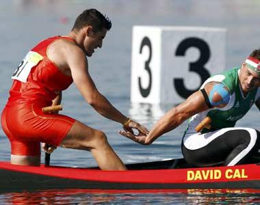 David Cal felicita a Attila Vajda tras su victoria