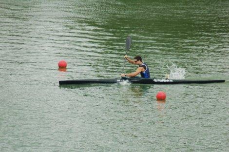 Ekaitz Saies fue tercero en su eliminatoria