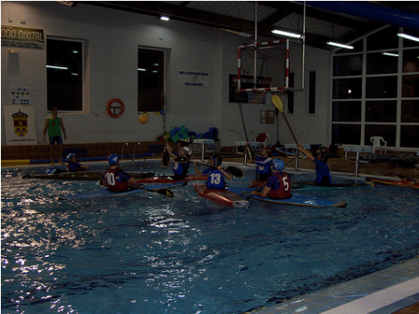 Torneo Kayak Polo As Pontes