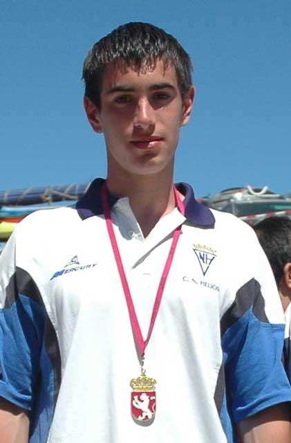 Pablo Medrano se trae la primera medalla para España