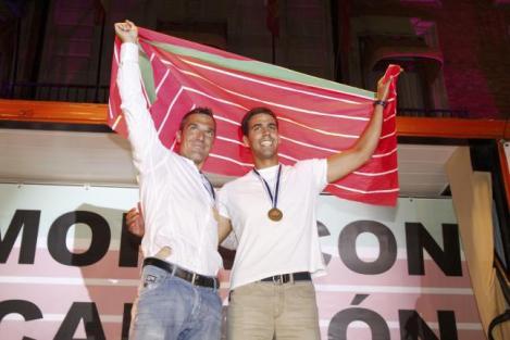 Homenaje a los campeones, foto Emilio Fraile