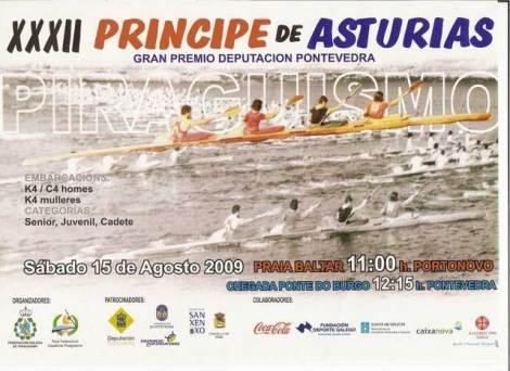 Cartel promocional de la regata