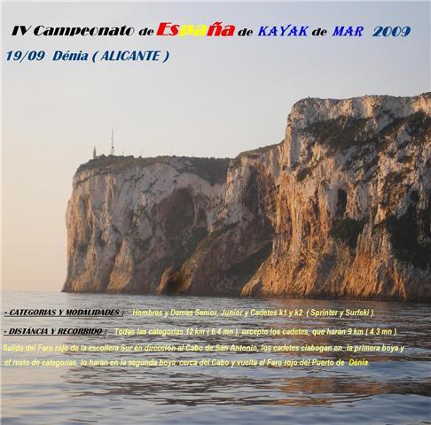 Campeonato de España de Kayak de Mar