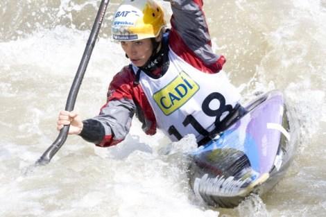 Maialen Chourraut rozó el podio