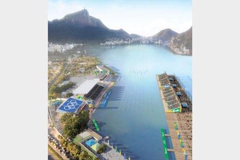 Proyecto del canal de piragüismo y remo de Río 2016