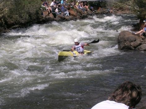 Arakama disputando la Hydro Tasmania World Cup, foto Víctor Craviotto
