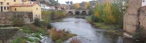 Imagen del Río Jerte a su paso por Plasencia