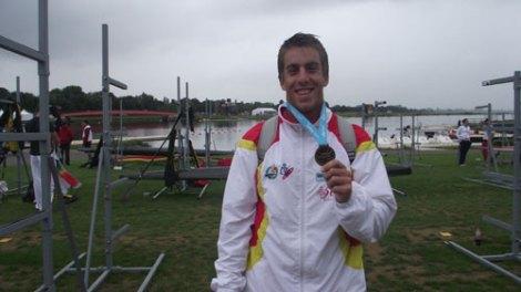 Benavides volvió al podio en un mundial