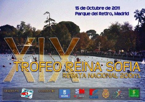 Cartel del XIX Trofeo Reina Sofía