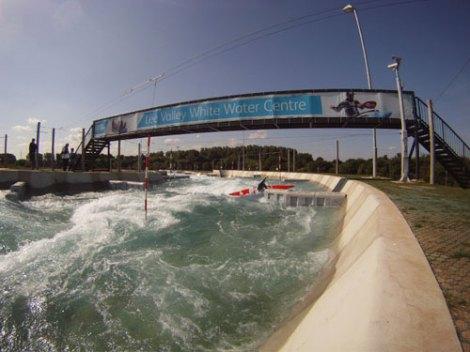 Canal olímpico de Lee Valley