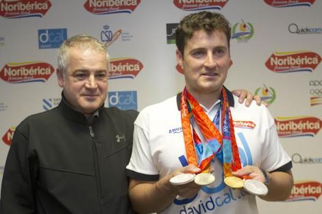 David Cal junto a Suso Morlán buscará su 5ª medalla olímpica