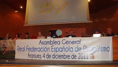 Asamblea de la RFEP, foto Javier Melus