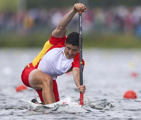 David Cal consiguió su quinta medalla olímpica