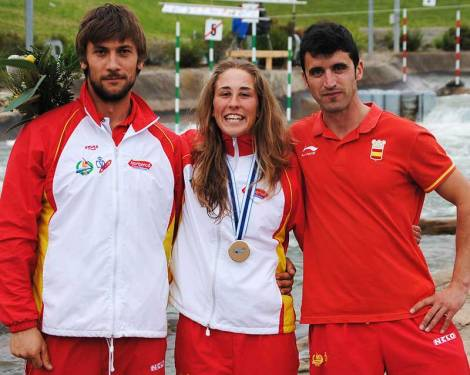 Nuria Villarrubla se llevó el bronce